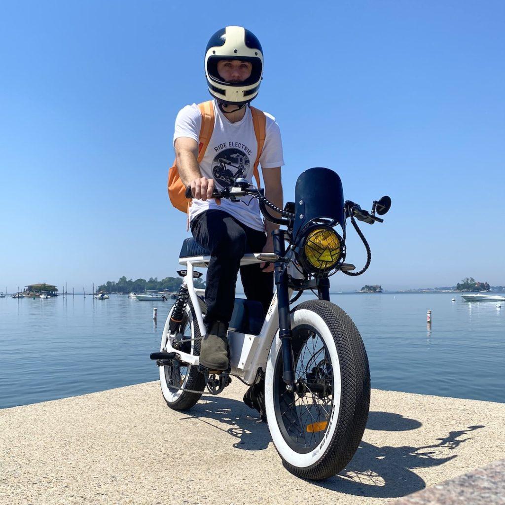 Custom bandit Electric moped